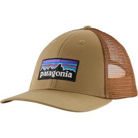 Patagonia P-6 Logo LoPro Gorra de Camionero, classic tan